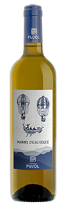 bouteille Marins blanc domaine pujol