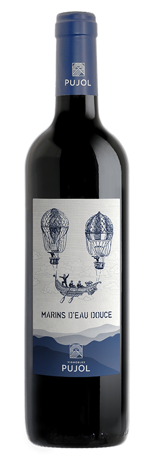 bouteille Marins Rouge domaine pujol
